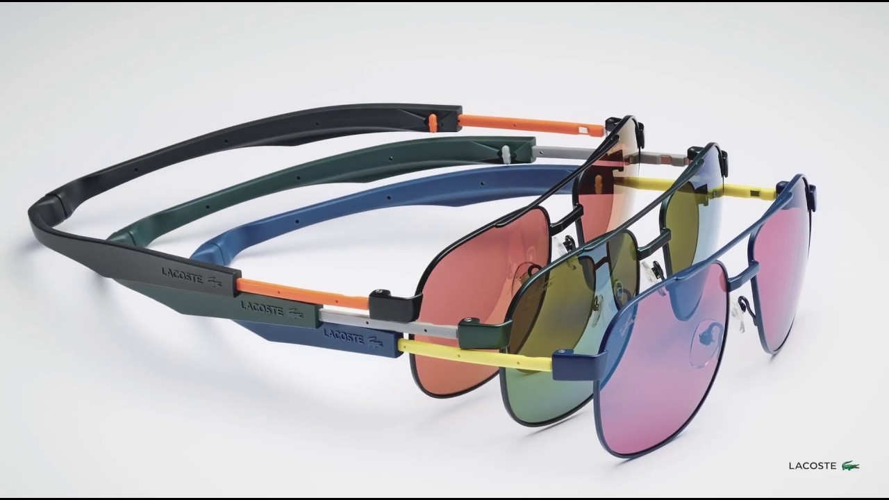 435c9659e40 RENÉ MAGNETIC SUNGLASSES - LACOSTE - YouTube