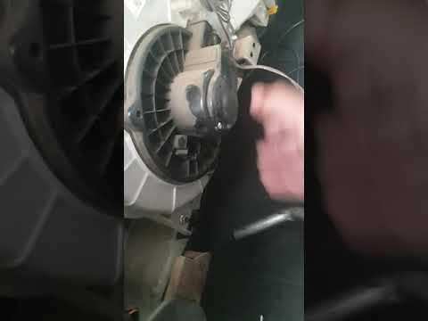 how to change isuzu truck blower motor
