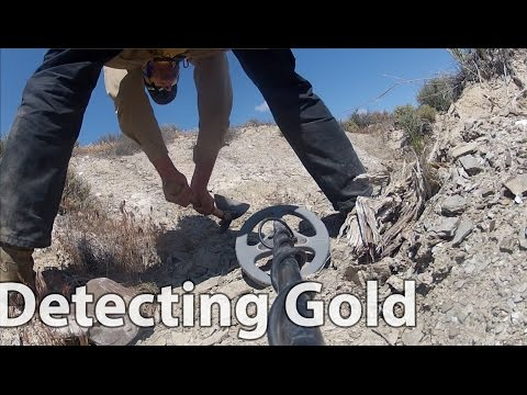 Nevada Nugget hunting - Gold Detecting and Prospecting