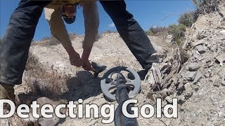 Nevada Nugget hunting - Found 3 Gold Nuggets Gold Detecting