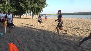 Чемпионат ЗМАМФ по пляжному футболу. Штурм - Запорожпромгрупп 0:4