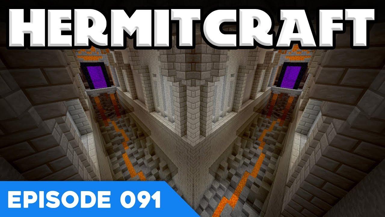 Hermitcraft V 091 Nether Tunnel Design A Minecraft Lets Play