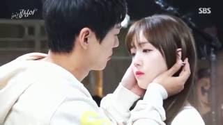 Last making and interview Beautiful Gong Shim Minah ♥ NamKoong Min