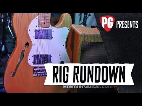 Rig Rundown  Lucinda Williams, Stuart Mathis, and David Sutton