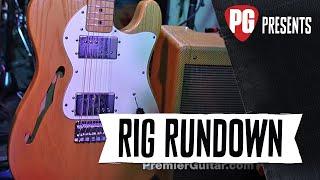 Rig Rundown - Lucinda Williams, Stuart Mathis, and David Sutton