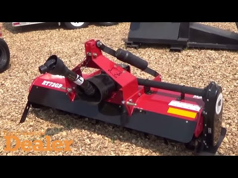 Bush Hog Unveils New Rtg Series Of Rotary Tillers Youtube