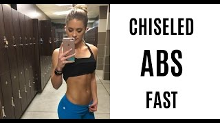 CHISELED ABS | #GetFitWithWhit