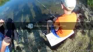 Рыбалка лето 2020 первое видео с моей камеры