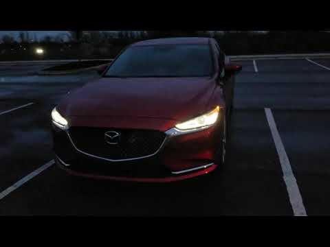2018 Mazda 6 Signature - Night time lighting