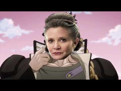 Leia Ora Ora Oras Poe Dameron Last Jedi Meme Youtube