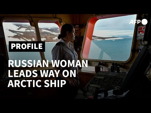 Breaking barriers: Russian woman leads the way on Arctic ship   AFP