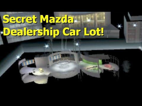 NFS Carbon: Secret 'Mazda Dealership' Car Lot