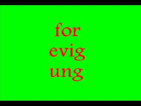 for evig ung