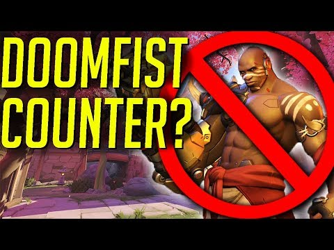HOW TO COUNTER DOOMFIST! INSANE DOOMFIST FAIL!   OVERWATCH WTF FUNNY MOMENTS MONTAGE!