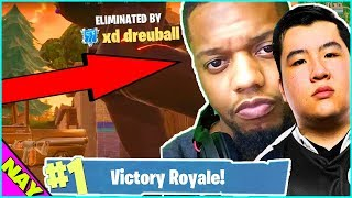 My Channel Moderator Killed Aimbot Calvin and King Richard during my Fortnite Tournament