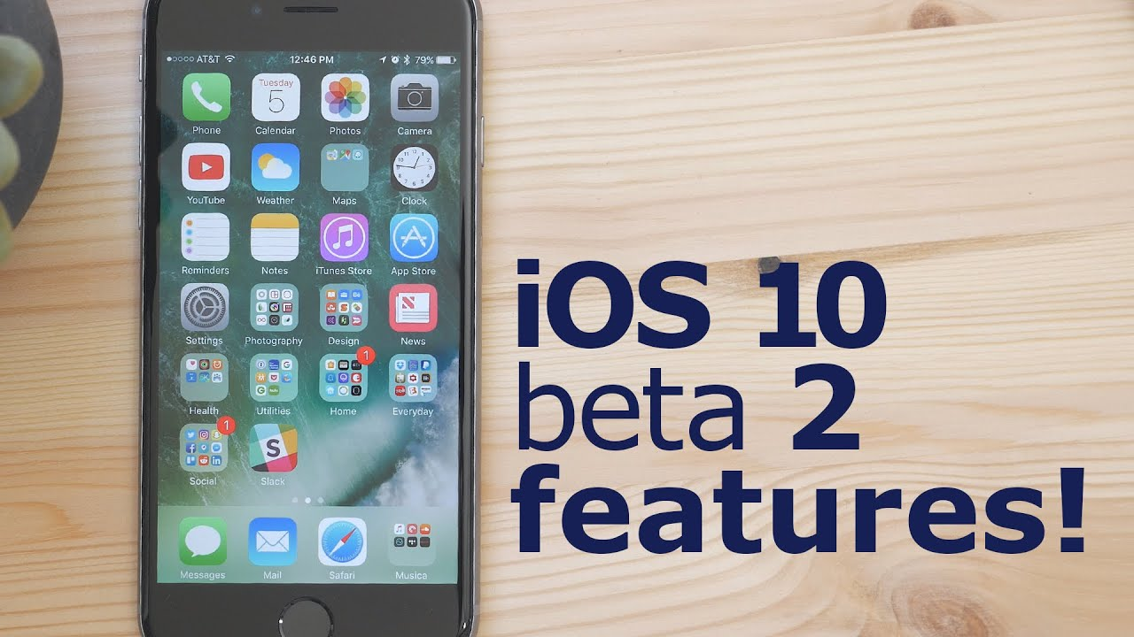 What's New in iOS 10 Beta 2! – YouTube