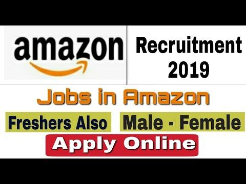 Amazon Recruitment 2019 II Private Job 2019 II Apply Online II Latest Videos II HINDI II LATEST JOB
