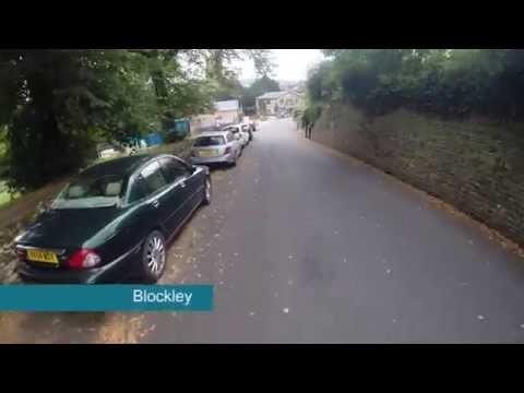 Blockley Gloucestershire, Mountain Bike Trek!