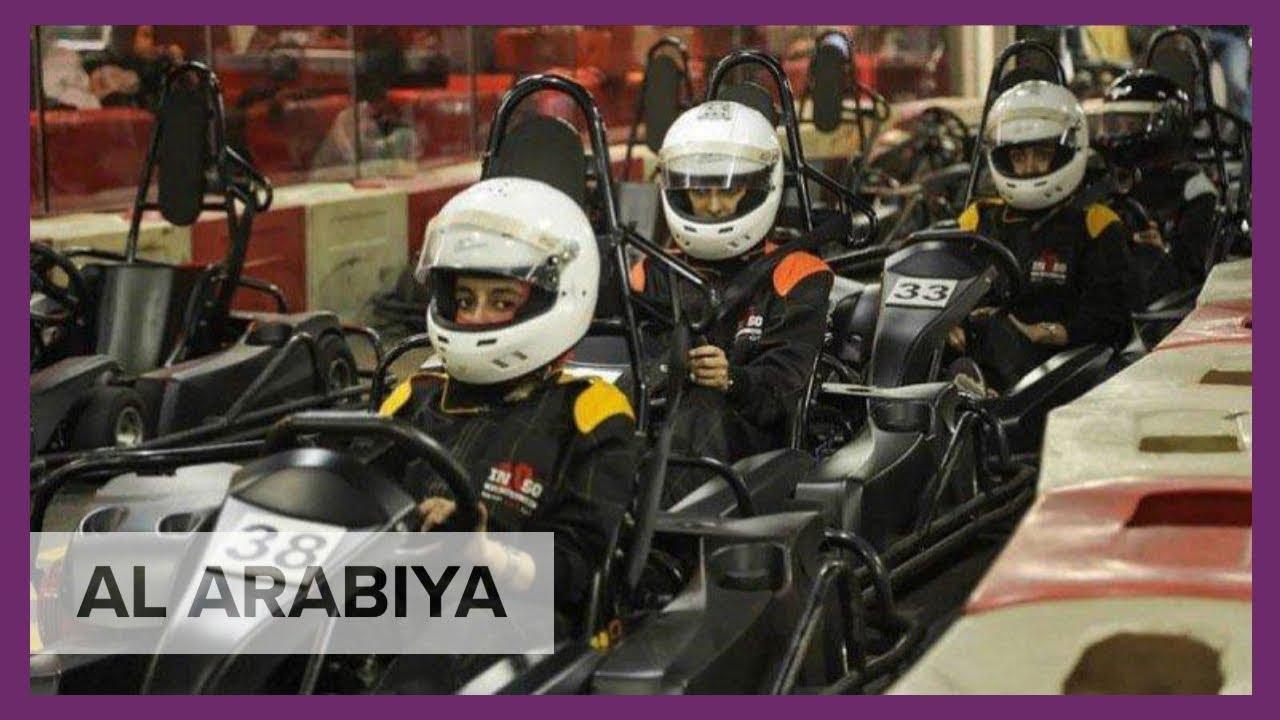 First Women S Go Karting Race Held In Saudi Arabia Youtube