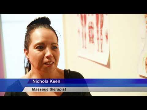 Massage Therapist To Compete In Denmark