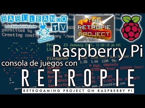 Raspberry Pi - Consola de juegos con RetroPie