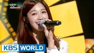 Jeong Eunji - Hopefully Sky | 정은지 - 하늘바라기 [Music Bank HOT Stage / 2016.05.06]