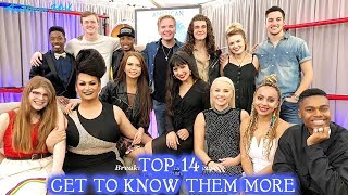 TOP 14 Get To Know Them More - American Idol 2018 Top 14