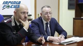 Sequestrato un quintale di hashish ad Avellino - la conferenza stampa dei Carabinieri