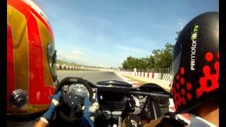 Ariel Atom - Una vuelta en Montmelo Onboard GoPro - PRMotor TV Test 2011
