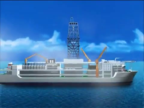 OFFSHORE DRILL SHIP DRILLING