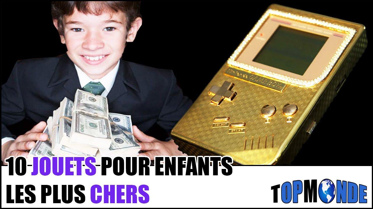 10 jouets pour enfants les plus chers youtube
