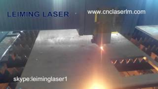 LEIMING 12mm Carbon steel 1500W fiber laser cutting machine