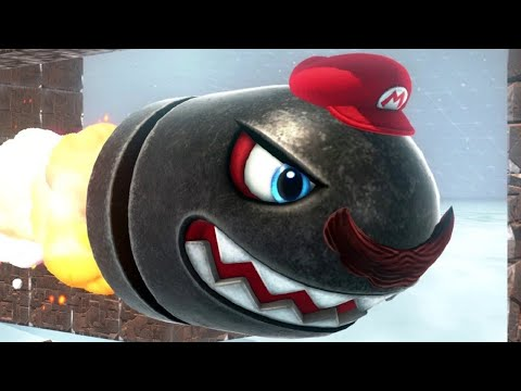 Super Mario Odyssey Walkthrough Part 31 - Dark Side of the Moon Completed