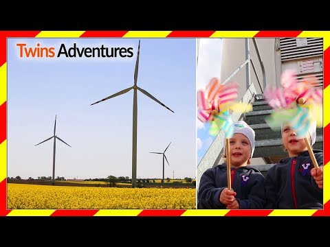 WINDMILL FOR KIDS | WIND FARM |  WIND TURBINE FOR KIDS
