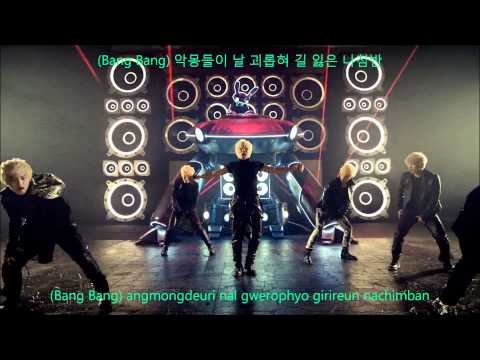 B.A.P - Warrior (워리어) MV HD (Hangul+Romanization Lyrics on Screen)