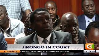 Cyrus Jirongo charged over sh20m debt