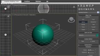 Создание простых объектов примитивов в программе 3D MAX