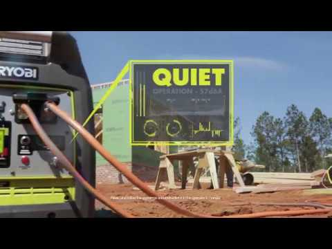 Ryobi 2300 Inverter Generator With Bluetooth Unboxing