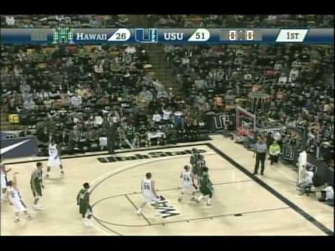Utah State Basketball Highlights 2010 part 1
