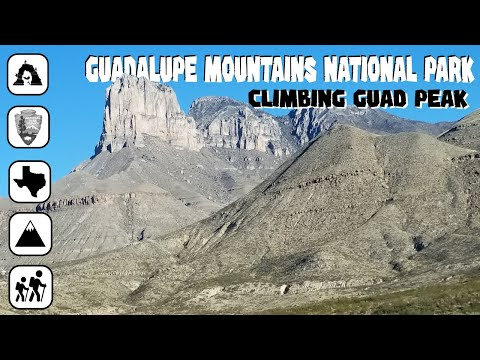 Guadalupe Mountains - Guadalupe Peak