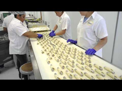 Snack Food & Wholesale Bakery visits Golden Cannoli Shells