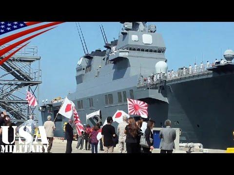 日系人から大歓迎を受ける海上自衛隊「護衛艦ひゅうが」のアメリカ遠征