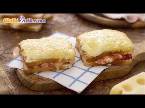Croque monsieur - French recipe