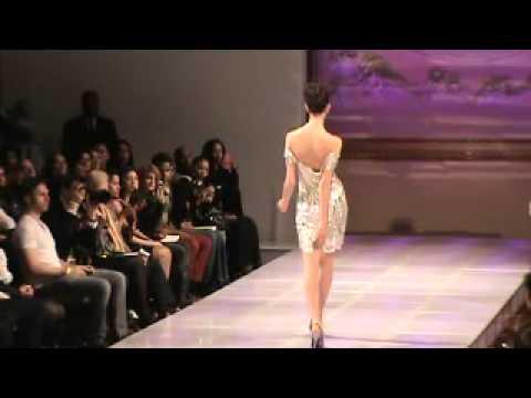 Laila Wazna (Saudi Arabia) | Couture Fashion Week New York February 2013