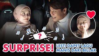 Surprise Lesti Dapet Lagu Manis Dari Rizky Billar