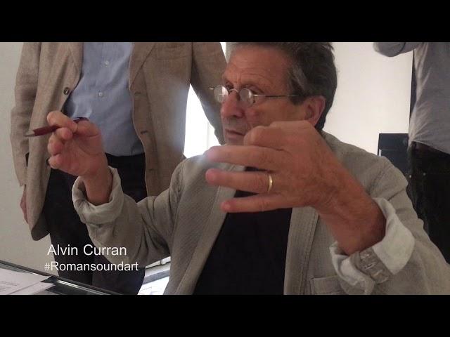 Alvin Curran: OMNIA FLUMINA ROMAM DUCUNT - ALL RIVERS LEAD TO ROME