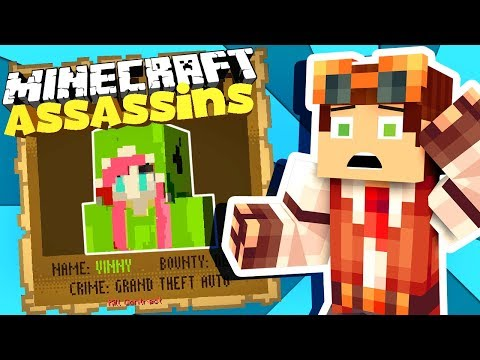 Circle of Assassinations!! • Assassins on Hypixel • Minecraft Mini-game