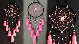 Wall Hanging Craft Ideas // Wall Decor Ideas // Woolen Craft Wall Hanging