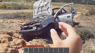 Real Life Minecraft - OUTBACK WRECKAGE