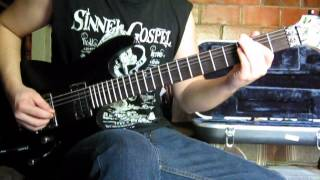Rhapsody of Fire / Luca Turilli - Lord of the Thunder - Guitar Cover by Juan Tobar